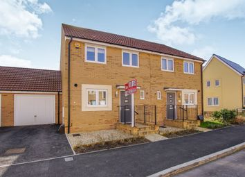 Thumbnail 3 bedroom semi-detached house for sale in Newlands Lane, Emersons Green, Bristol
