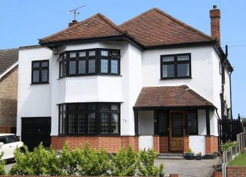 Thumbnail 4 bed detached house to rent in Chelmsford Road, Shenfield