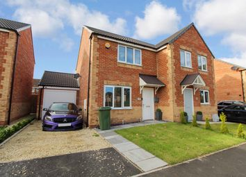 Thumbnail 2 bed semi-detached house for sale in Malvins Road, Blyth