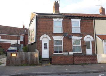 Thumbnail 2 bedroom end terrace house for sale in Waterloo Road, Norwich