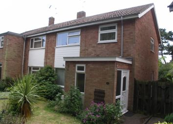 Thumbnail 3 bedroom semi-detached house to rent in Thirlmere Court, Felixstowe