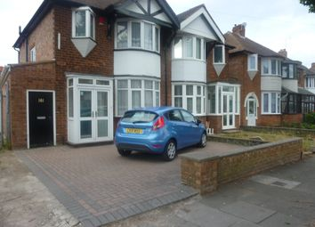 Thumbnail 4 bedroom semi-detached house to rent in Glendower Road, Perry Barr, Birmingham