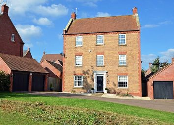 Thumbnail 6 bed detached house for sale in Tuthill Furlong, Coton Park, Rugby