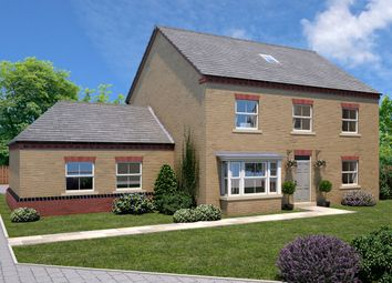 Thumbnail 5 bed link-detached house for sale in The Harewood, Elmete Lane, Roundhay, Leeds