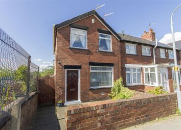 Thumbnail 3 bedroom terraced house for sale in Devonshire Avenue East, Hasland, Chesterfield