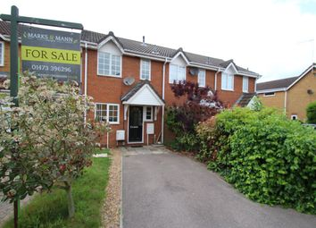 Thumbnail 2 bedroom terraced house for sale in Mill Road Drive, Purdis Farm, Ipswich, Suffolk