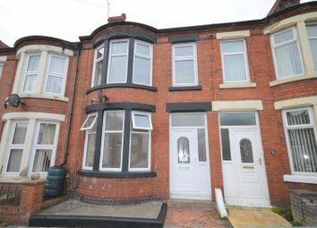 Thumbnail 3 bed terraced house to rent in Norwood Road, Wallasey