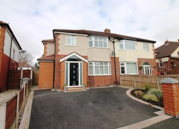 Thumbnail 4 bed semi-detached house for sale in Cumberland Road, Urmston, Manchester