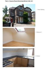 Thumbnail 3 bedroom flat to rent in Queens Road, Rock Ferry, Birkenhead