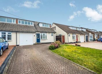 Thumbnail 4 bed semi-detached house for sale in Foxcroft Close, Burntwood, Staffordshire