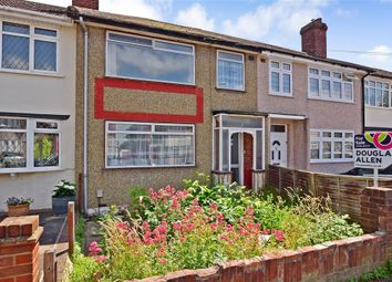 Thumbnail 3 bed terraced house for sale in Benhurst Avenue, Hornchurch, Essex