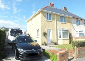 Thumbnail 3 bed semi-detached house for sale in Woodbine Terrace, Pembroke, Pembrokeshire