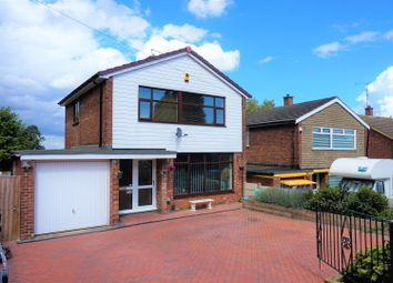 Thumbnail 3 bed detached house for sale in Oundle Drive, Mansfield