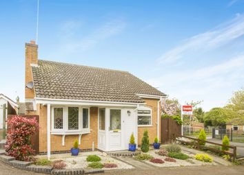 Thumbnail 2 bedroom detached bungalow for sale in Somerby Road, Thurnby, Leicester