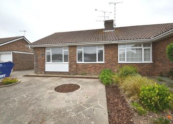 Thumbnail 3 bed semi-detached bungalow to rent in New Road, Durrington, Worthing