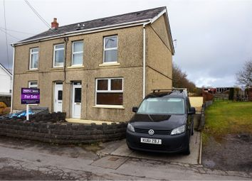 Thumbnail 3 bed semi-detached house for sale in Black Lion Road, Llanelli
