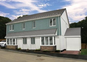 Thumbnail 3 bed semi-detached house for sale in Copper Meadows Relistian Lane, Gwinear, Hayle