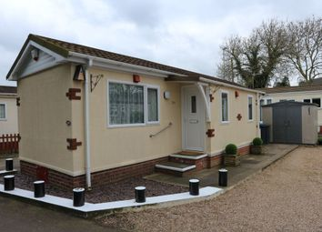 Thumbnail 1 bedroom mobile/park home for sale in Station Road, Ratby