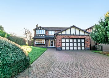 Thumbnail 4 bed detached house for sale in Chessington Close, Appleton, Warrington