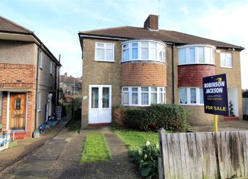 Thumbnail 3 bed property for sale in Castleton Avenue, Barnehurst, Kent