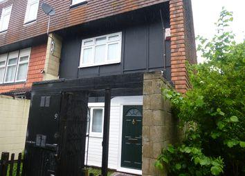Thumbnail 4 bedroom end terrace house for sale in Gibbwin, Great Linford, Milton Keynes