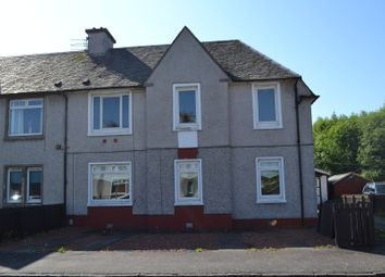 Thumbnail 3 bed flat for sale in Russell Street, Mossend