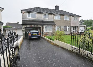 Thumbnail 4 bed semi-detached house for sale in Birkbeck Close, Plympton, Plymouth