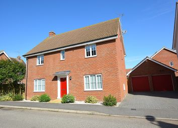 Thumbnail 4 bed detached house for sale in Clarendon Road, Little Canfield, Dunmow