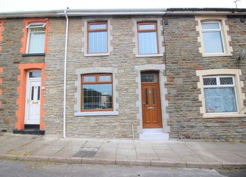 Thumbnail 3 bed terraced house for sale in Wyndham Street, Evanstown, Gilfach Goch, Porth