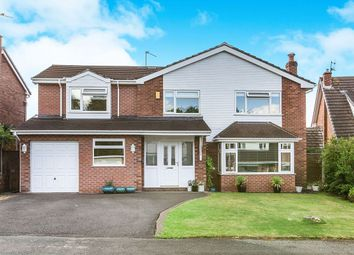 Thumbnail 4 bed detached house for sale in Millstream Close, Goostrey, Crewe