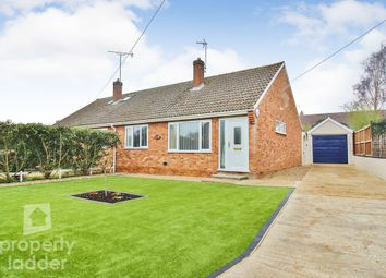 Thumbnail 2 bed semi-detached bungalow for sale in Park Road, Spixworth, Norwich