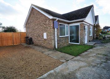 Thumbnail 2 bedroom bungalow for sale in Post Mill Crescent, Grundisburgh, Woodbridge