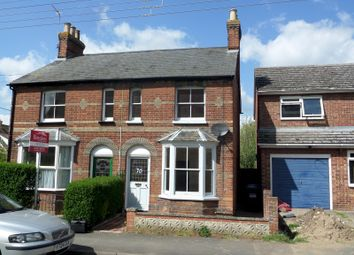 Thumbnail 2 bedroom semi-detached house to rent in St. Catherines Road, Long Melford, Sudbury