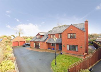 Thumbnail 5 bed detached house for sale in Domgay Road, Four Crosses, Llanymynech