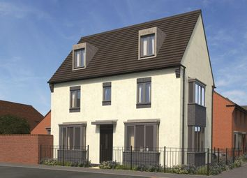 Thumbnail 4 bed semi-detached house for sale in Eastfield, Lawley Village, Telford