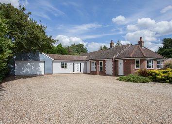 Thumbnail 4 bedroom detached bungalow for sale in Badley Moor, Dereham, Norfolk