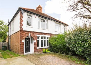 Thumbnail 3 bed semi-detached house for sale in Manor Lane, Sunbury-On-Thames