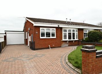 Thumbnail 2 bed semi-detached bungalow for sale in Milton Crescent, Talke, Stoke-On-Trent