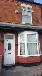 Thumbnail 1 bed terraced house to rent in Denbigh Street, Birmingham