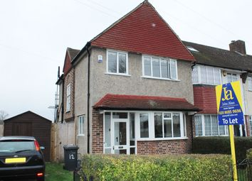 Thumbnail 3 bed semi-detached house to rent in Longhill Road, London