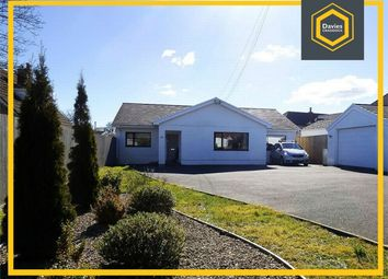Thumbnail 4 bed detached bungalow for sale in Oakdale, Mwrwg Road, Llangennech, Carmarthenshire