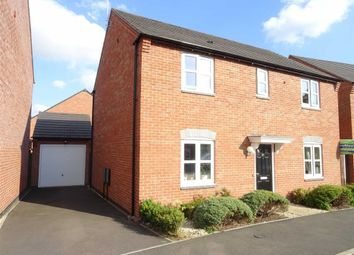 Thumbnail 4 bed detached house to rent in Holywell Fields, Hinckley