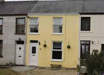 Thumbnail 2 bed terraced house for sale in Cilrhedyn Cottages, Capel Seion Road, Pontyberem
