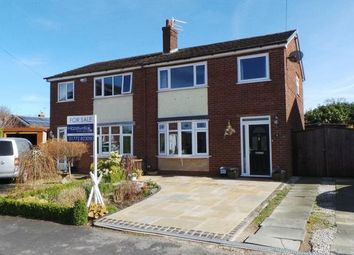 Thumbnail 3 bed semi-detached house for sale in Silverdale Close, Hoghton, Preston