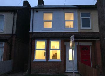 Thumbnail 3 bedroom end terrace house to rent in Henniker Road, Ipswich