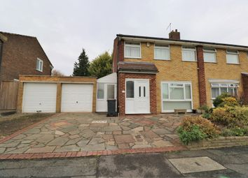Thumbnail 3 bed semi-detached house for sale in Bruce Drive, Ashen Vale, South Croydon