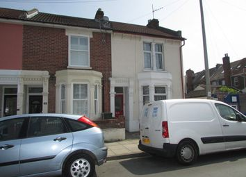 Thumbnail 5 bed terraced house to rent in Ruskin Road, Southsea