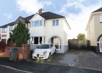 Thumbnail 3 bed semi-detached house for sale in Elbury Park Road, Worcester