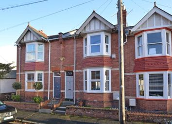 Thumbnail 2 bedroom terraced house for sale in West Grove Road, St. Leonards, Exeter