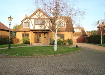 Thumbnail 5 bed detached house for sale in Royer Close, Clements Hall Way, Hawkwell, Hockley